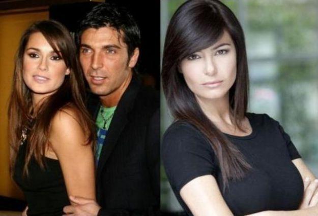 Gigi Buffon, Alena Seredova e Ilaria D'Amico