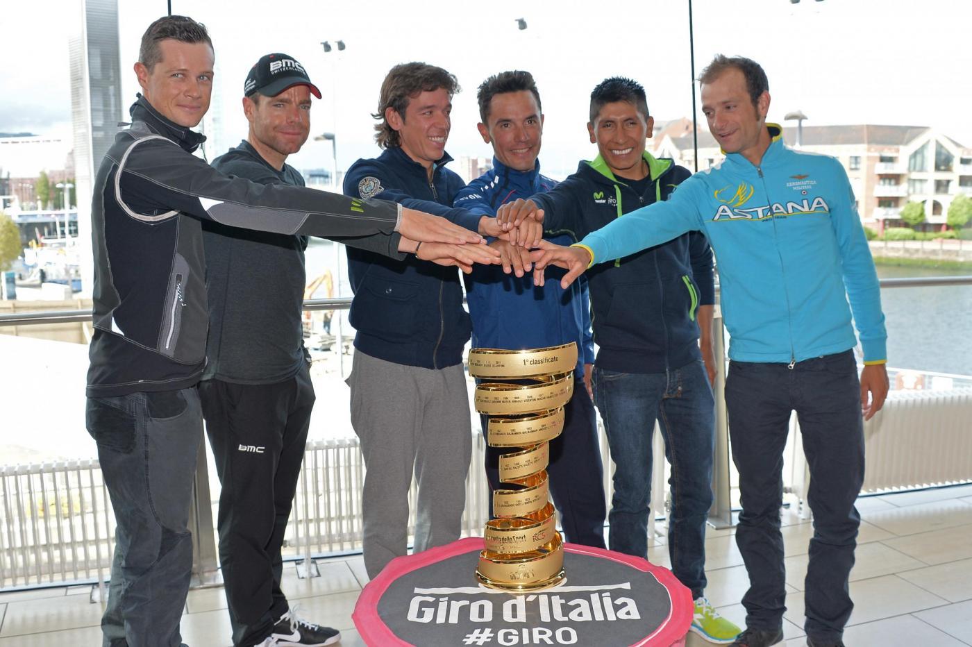Giro d'Italia 2014: partecipanti e squadre della 97ma edizione