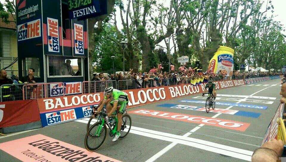 Giro d'Italia 2014, 13ma tappa: Canola vince, Uran sempre in Rosa