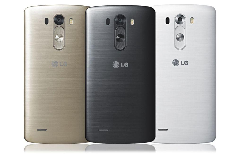 LG G3 colorazioni parte posteriore