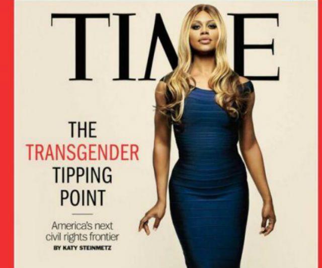 Laverne Cox, una transgender sulla copertina di TIME