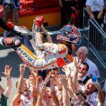 Moto GP Mugello 2014 , la gara : Marquez vince in bagarre