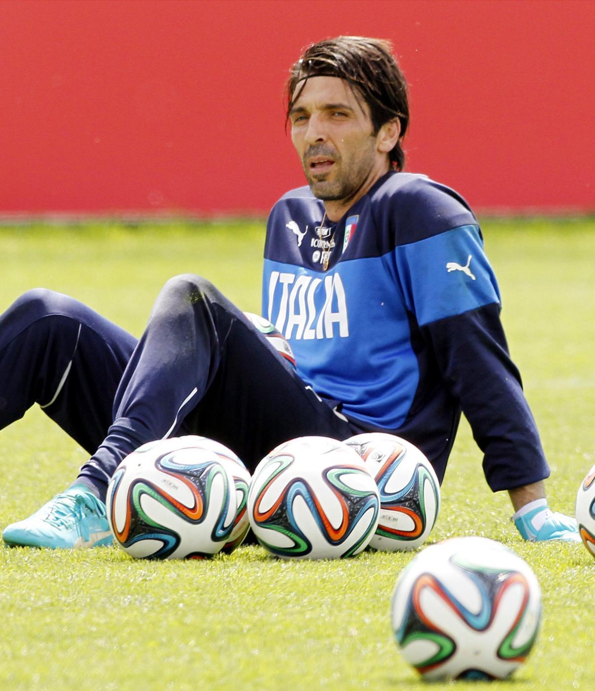 """Mondiali Brasile 2014, Buffon: """"i quarti sarebbero un gran risultato"""""""
