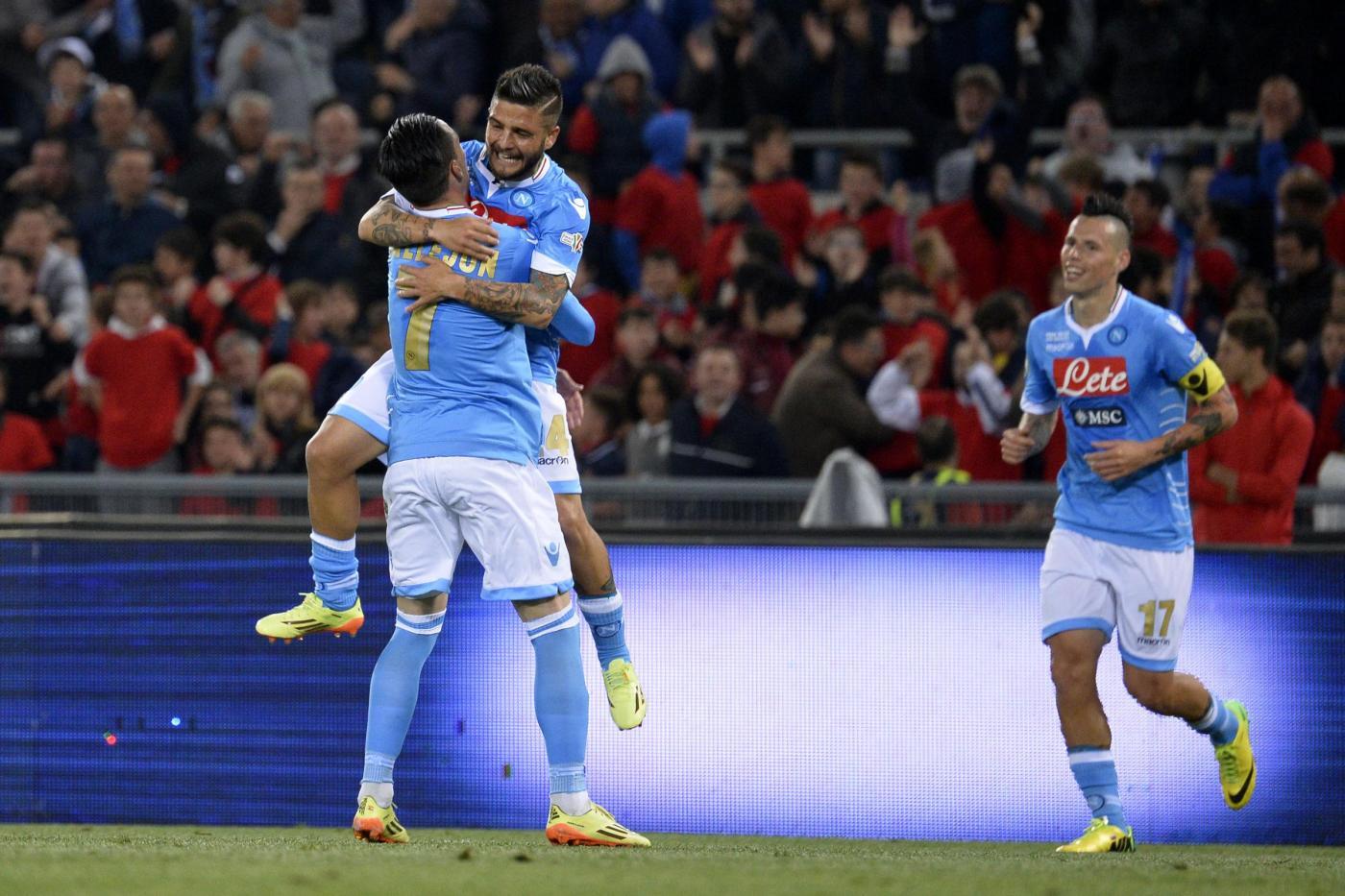 Napoli batte Fiorentina 3-1: è sua la Coppa Italia 2014