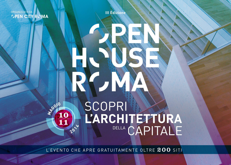 Open House Roma 2014: il programma e le inziative dell'evento