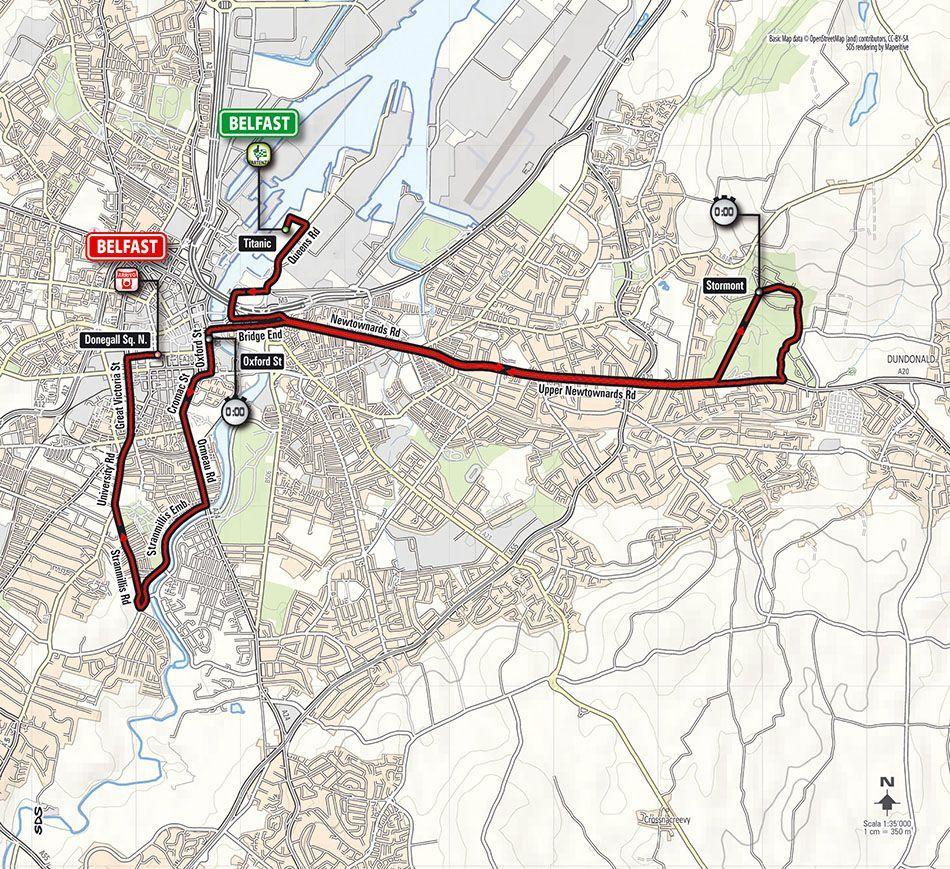Planimetria Tappa 1 Giro 2014