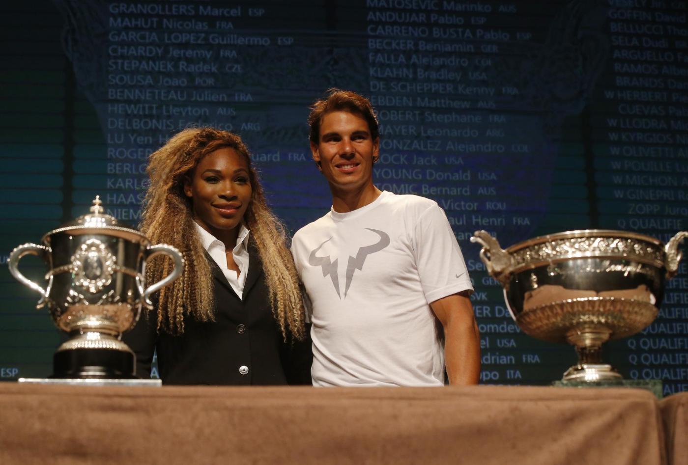 Roland Garros 2014: tabelloni e accoppiamenti dello slam parigino