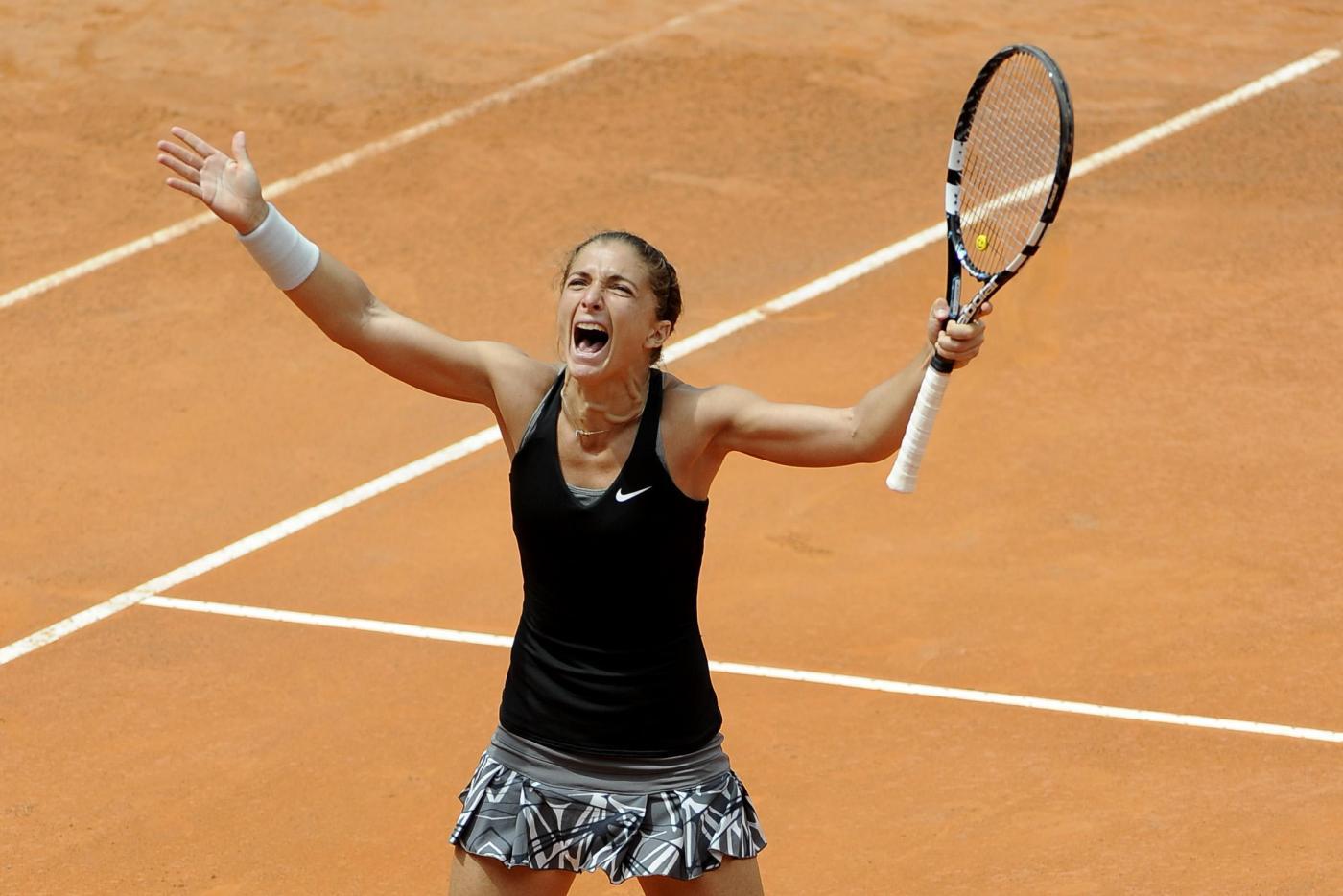 Sara Errani in semifinale Roma