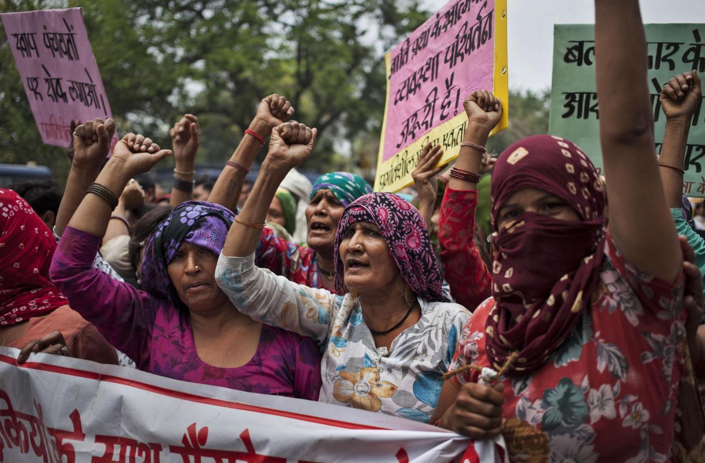 Stupro per punizione in India