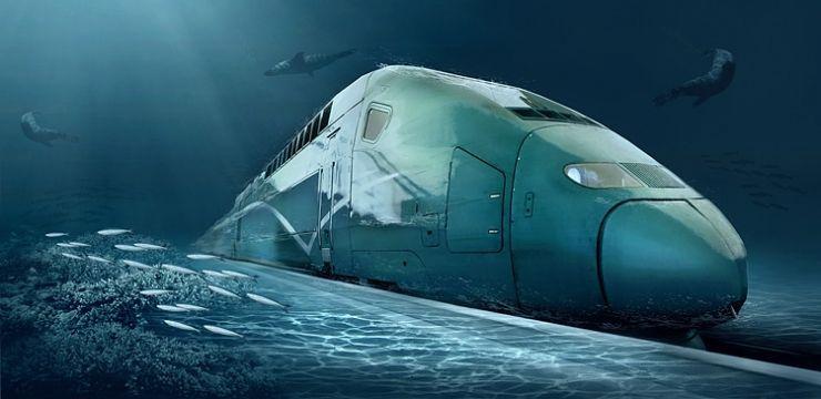 Treno sottomarino dalla Cina agli USA: il progetto hitech