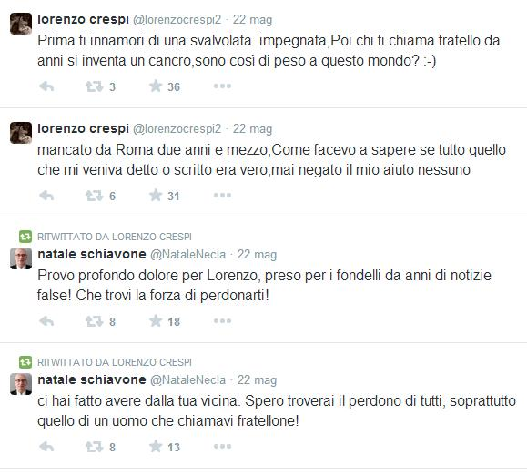 Tweet Lorenzo Crespi
