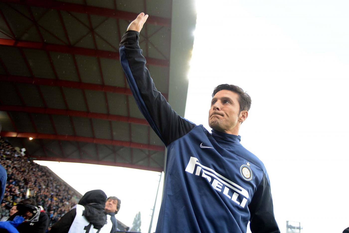 Javier Zanetti: l'Inter ritira la sua maglia 4