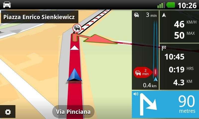 App TomTom per Android si paga al chilometro
