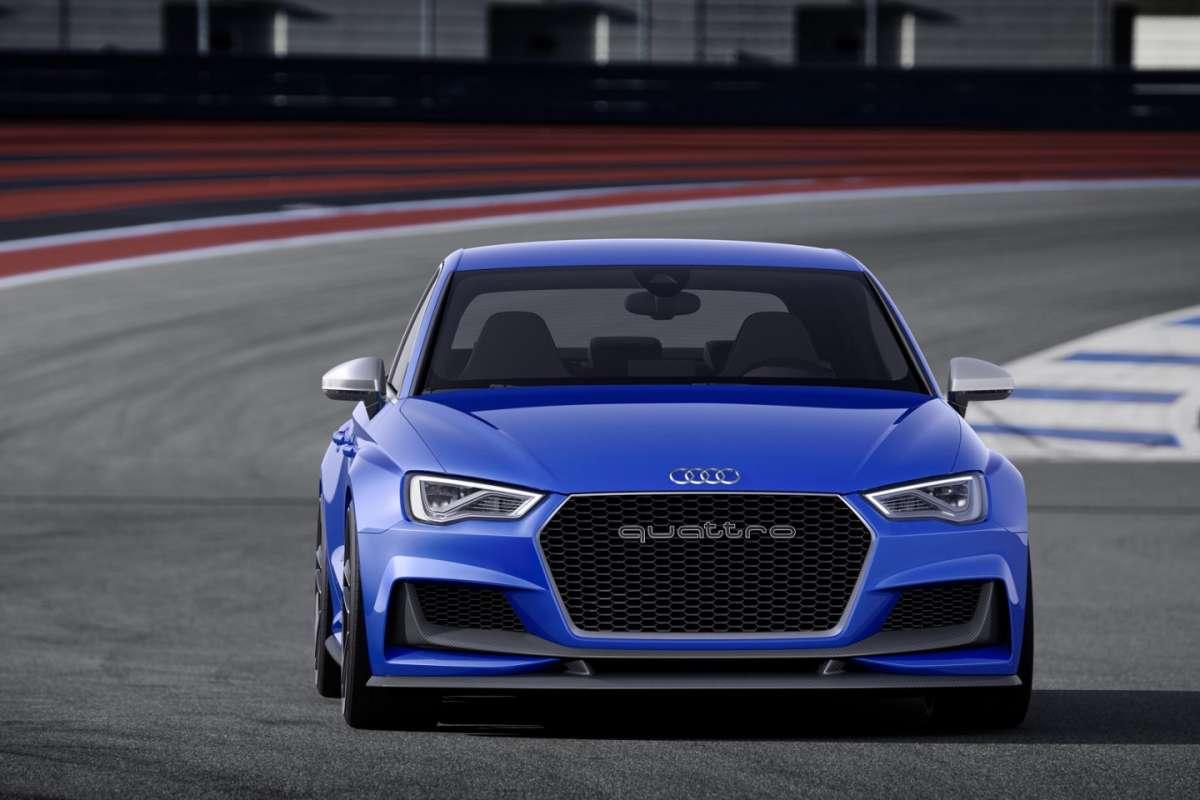 Audi A3 Clubsport Quattro Concept: dati tecnici e caratteristiche