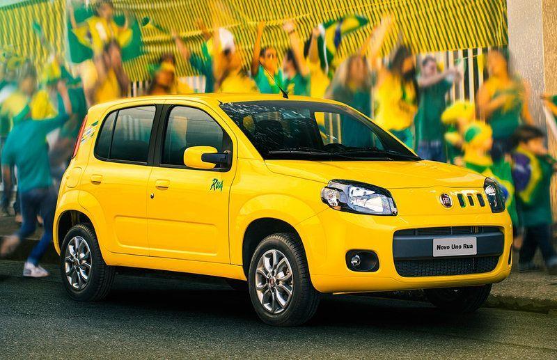 Fiat Uno Rua: aspettando i mondiali del Brasile 2014
