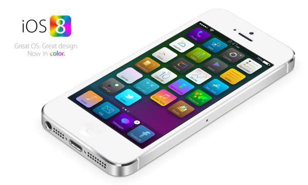 iOS8 rappresentazione