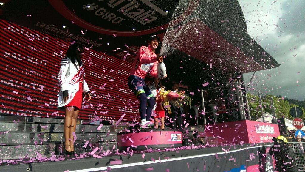 Giro d'Italia 2014, sesta tappa: vince la maglia Rosa Matthews