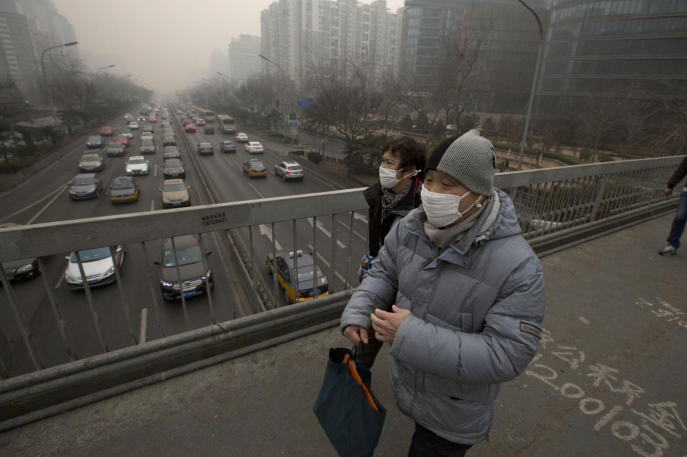 Smog, allarme Oms: metà della popolazione mondiale a rischio