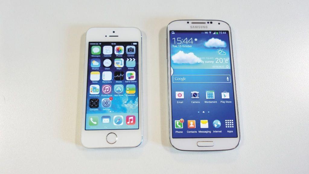 Android vs iOS S4 vs 5S