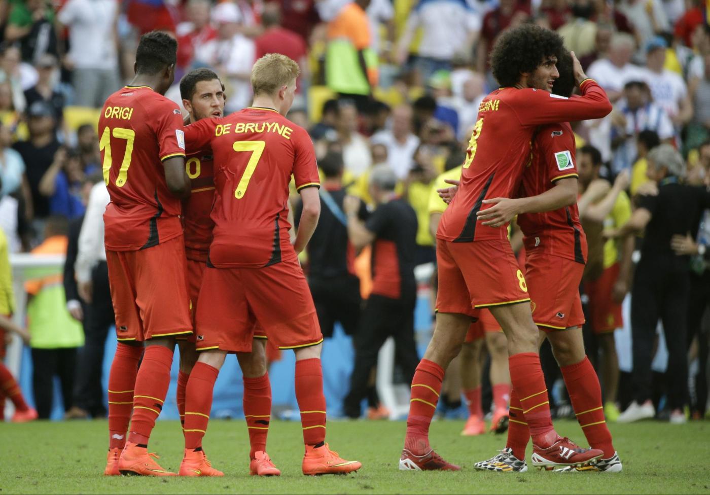 Mondiali 2014, Belgio vs Russia 1-0, Fabio Capello appeso a un filo
