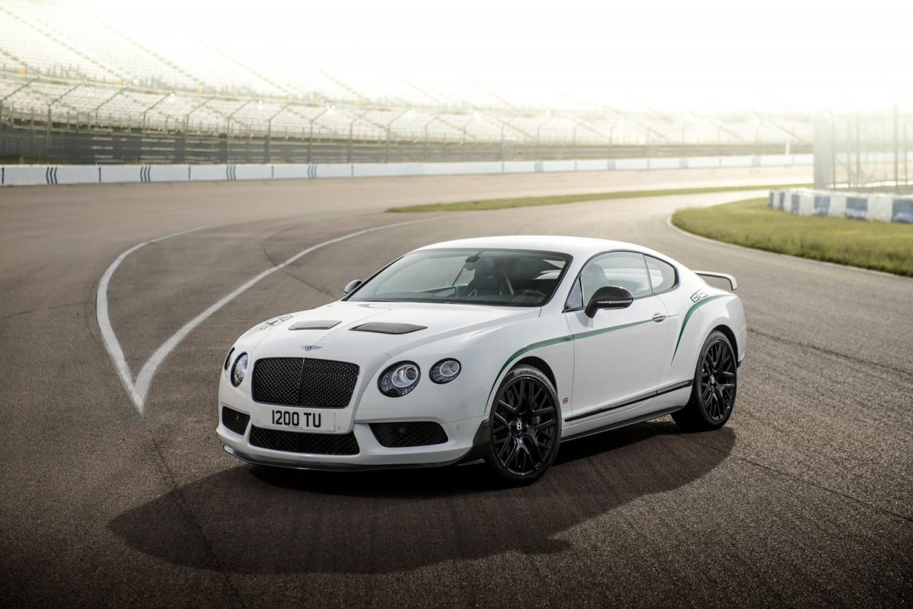 Bentley Continental GT3-R: più sportiva che lussuosa
