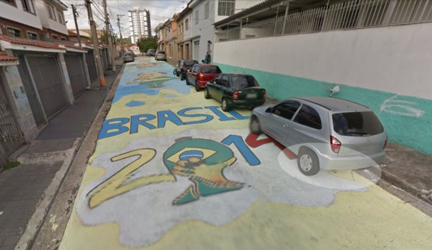 Brasile 2014 su Google Maps