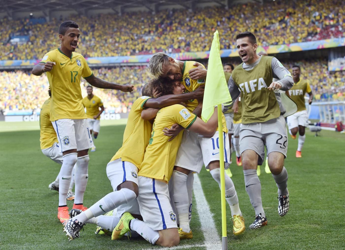 Mondiali 2014, Brasile batte Cile ai rigori, che fatica per i padroni di casa