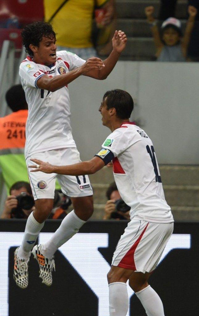 Mondiali 2014, Costa Rica vs Grecia 6-4: i centroamericani vincono ai rigori