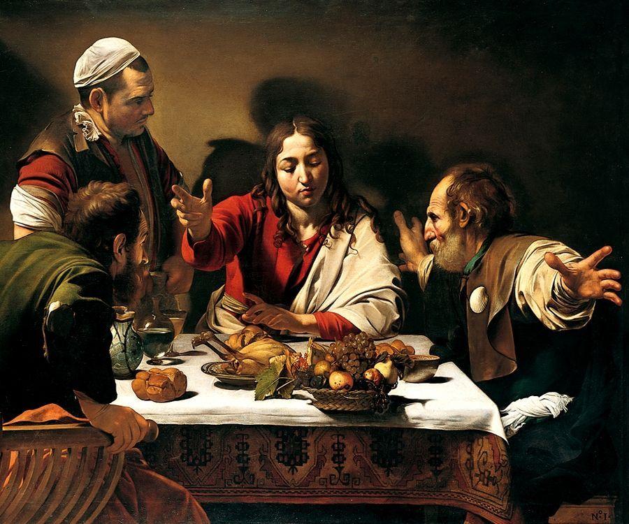Cena in Emmaus Caravaggio 150x150