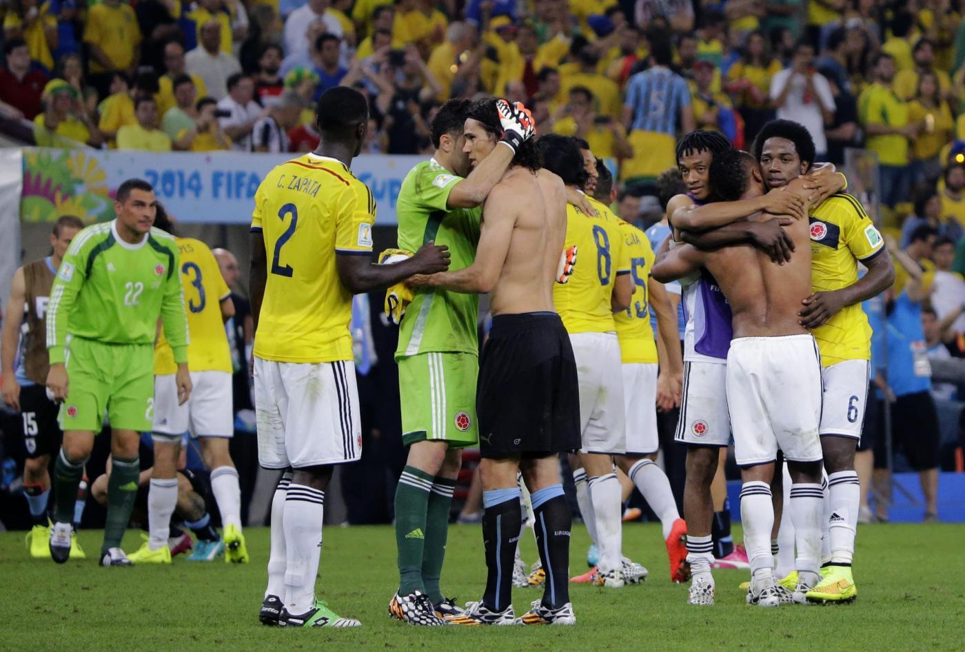 Mondiali 2014: la Colombia passa contro Uruguay grazie alla doppietta di Rodriguez