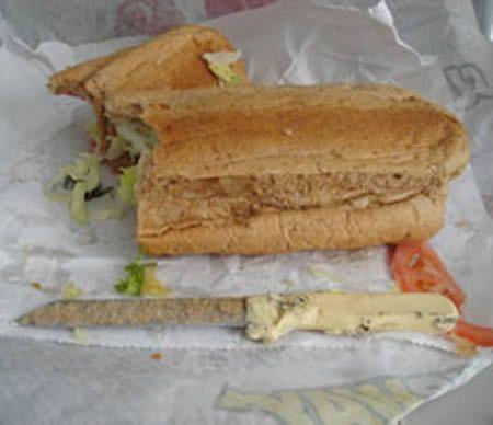 Coltello nel panino