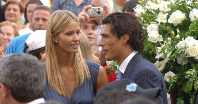 Elena Santarelli e Bernardo Corradi sposi: il matrimonio celebrato in Toscana