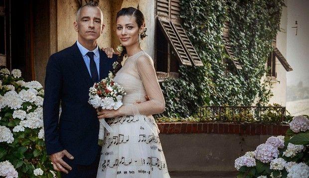 Eros Ramazzotti e Marica Pellegrinelli sposi: al matrimonio sfilata di cantanti