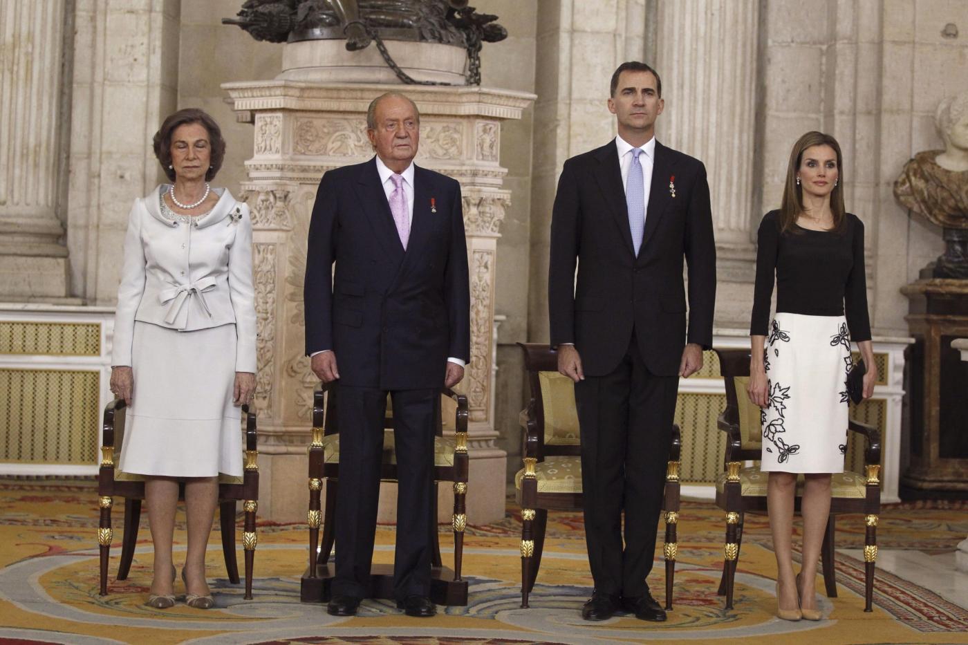Felipe Re di Spagna: incoronato il figlio di Juan Carlos