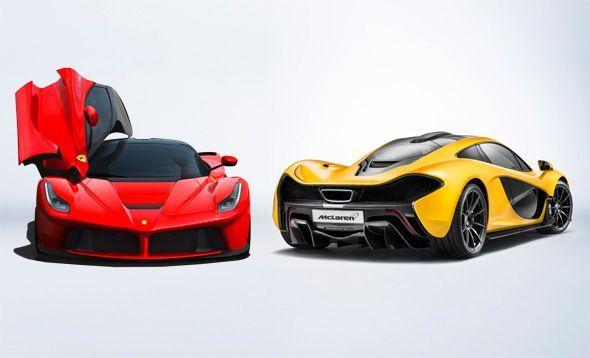 Ferrari LaFerrari vs McLaren P1: confronto tra hypercars