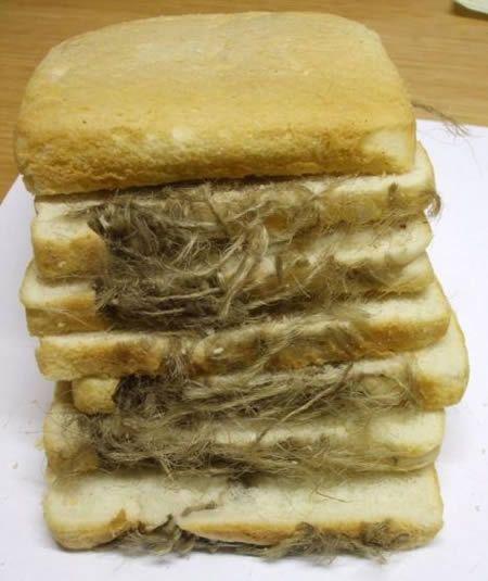 Fibra del forno nel pane