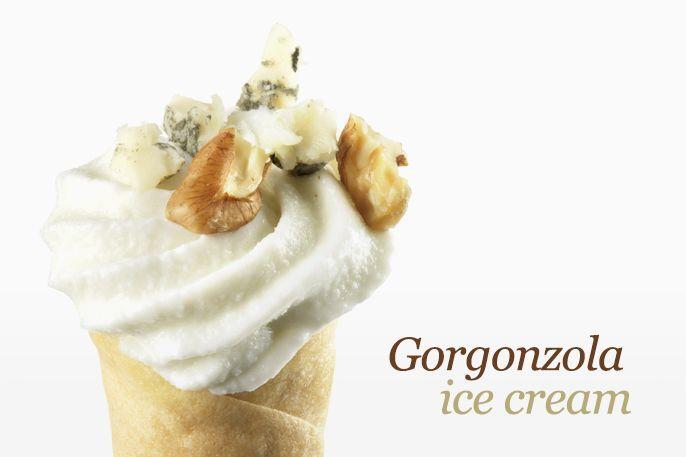 Gelato al gorgonzola