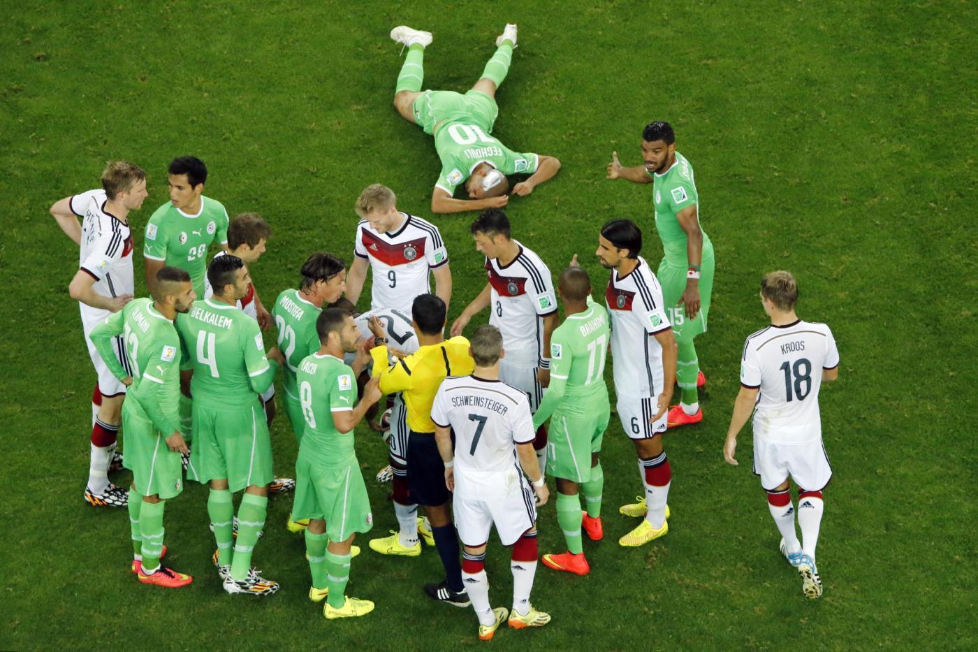 Mondiali 2014, Germania vs Algeria 2-1 ai supplementari con brivido finale