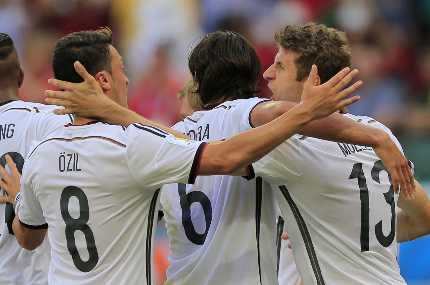Mondiali 2014, Germania vs Portogallo 4-0: tripletta di Muller, Pepe espulso