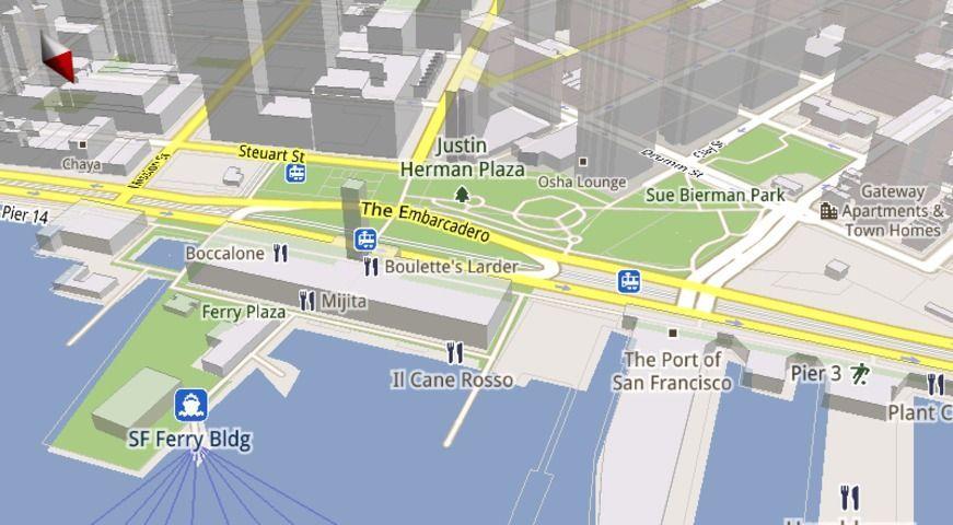 Google Maps 3D: come usare e sfruttare le mappe tridimensionali
