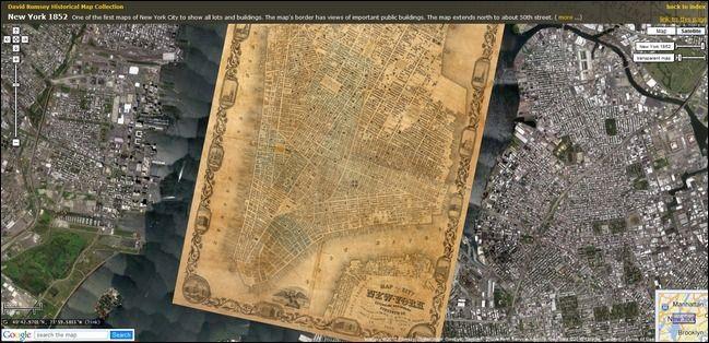 Google Maps: foto storiche prima&dopo e spettacolari mashup