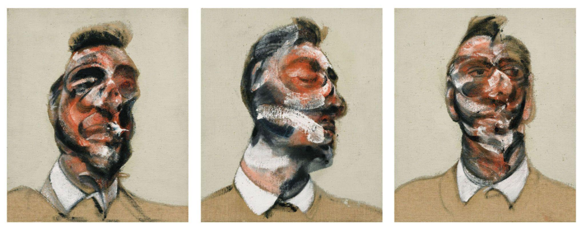 Francis Bacon, all'asta il trittico che ritrae l'amante George Dyer