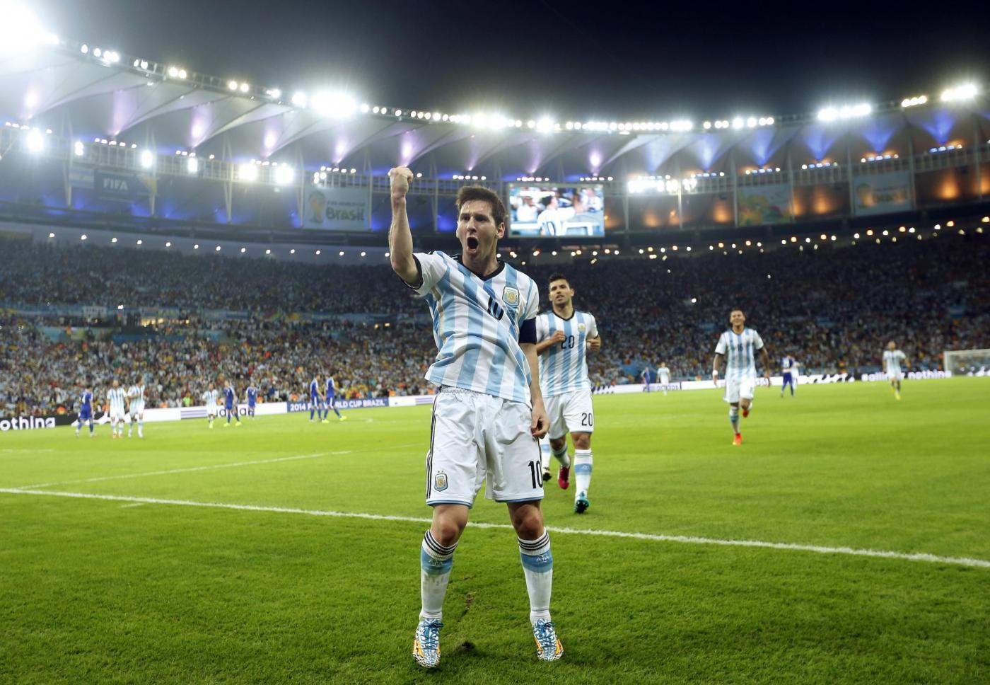 Leo Messi Mondiali Brasile 2014