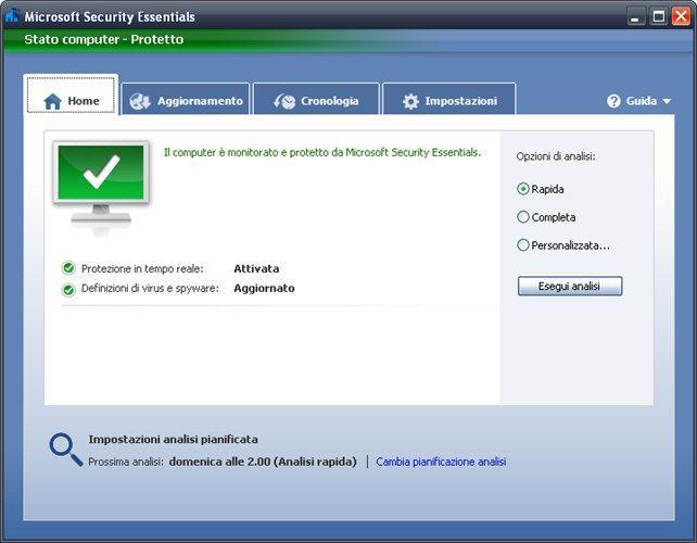 Microsoft Security Essentials 2014