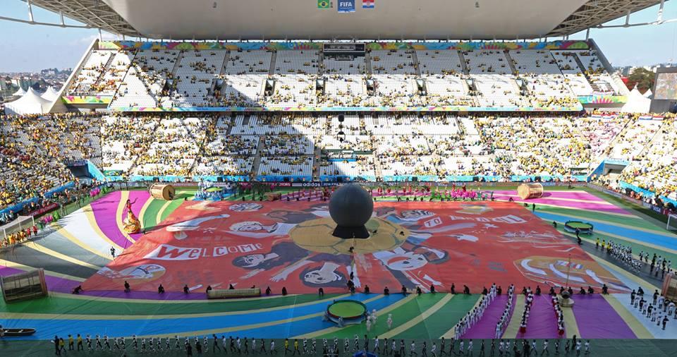 Mondiali Brasile 2014, la cerimonia d'apertura