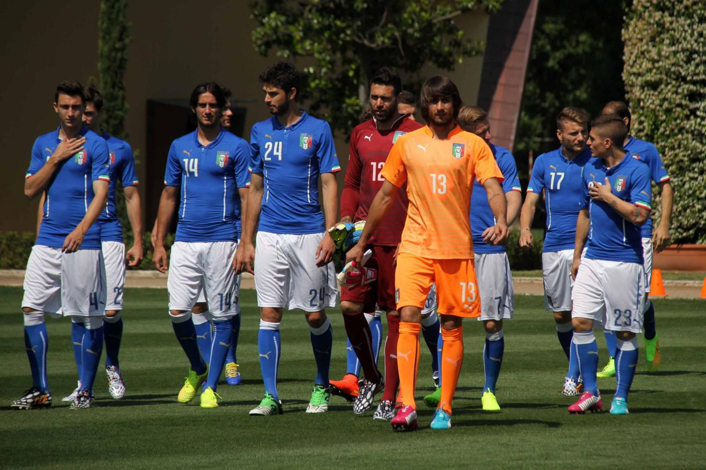 Nazionale Italia di calcio Mondiali 2014