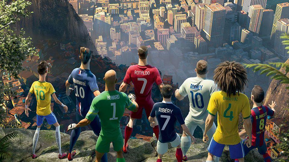 Mondiali 2014: la battaglia dei cloni nello spot Nike