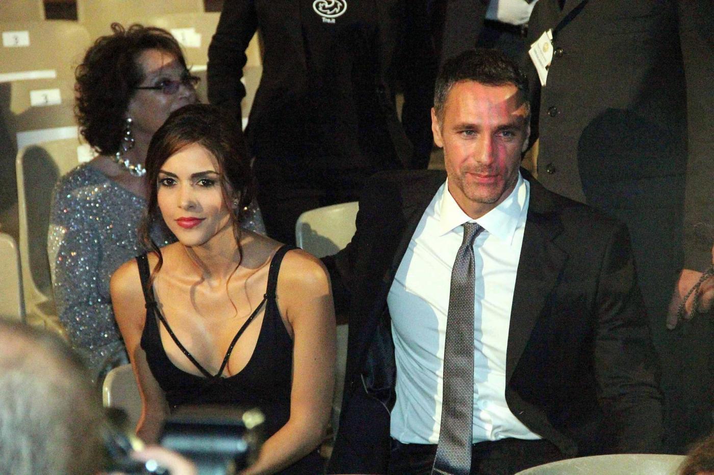 Raoul Bova e Rocío al Taormina Film Fest: prima uscita ufficiale per la coppia