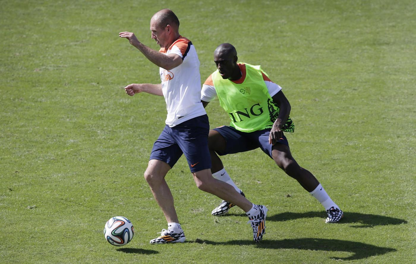 Robben Mondiali 2014
