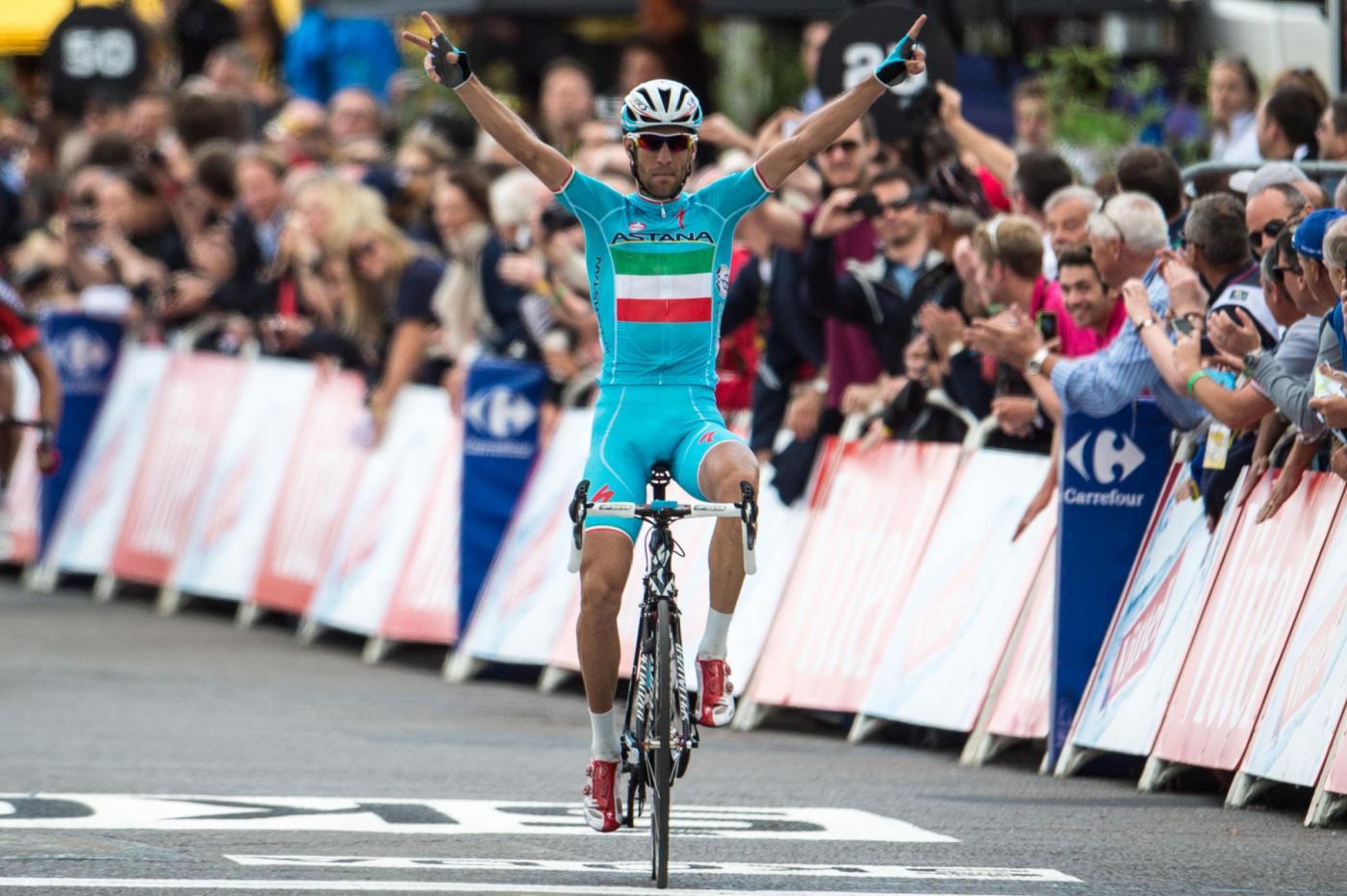 Vincenzo Nibali campione italiano 2015, è straordinario bis